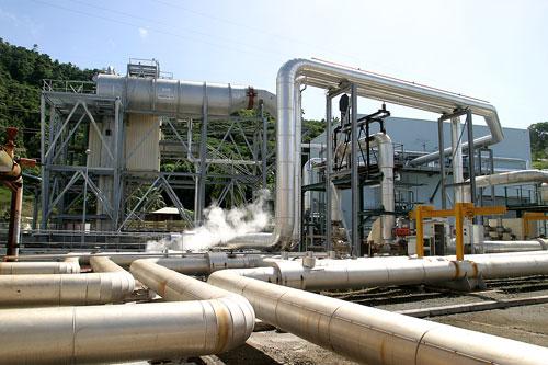 Centrale geothermique de Bouillante