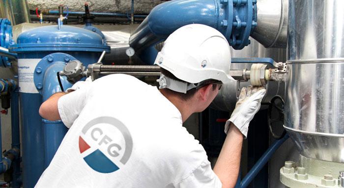 Chantier de géothermie industrielle