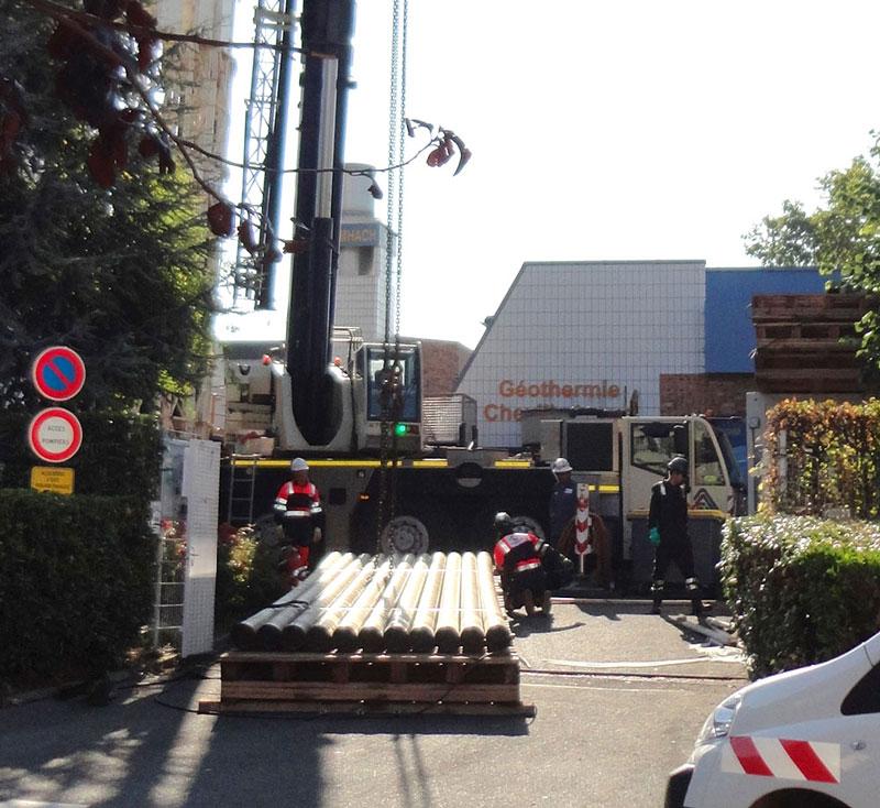 Solution Innovante : Rechemisage des puits des doublets – SEMHACH – Chevilly-Larue et l'Haÿ-Les-Roses (94)