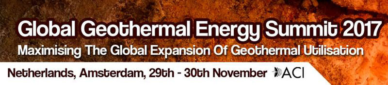 GLOBAL GEOTHERMAL ENERGY SUMMIT 2017