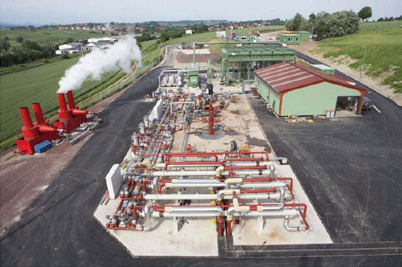 Analyse des risques de corrosion au sein du circuit géothermique d'une centrale de type EGS