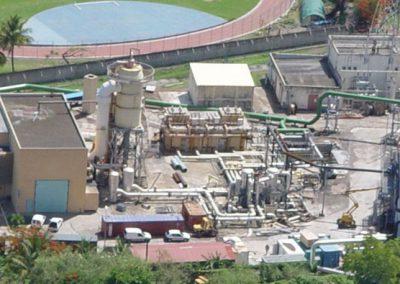 Audit des installations d'une centrale géothermique pour production d'électricité et étude de faisabilité de mise sous protection cathodique des installations enterrées et immergées