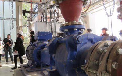 Ivry : la centrale d'énergie verte prête à chauffer le futur quartier Confluences