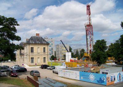 Redimensionnement de la production géothermale de Sucy en Brie